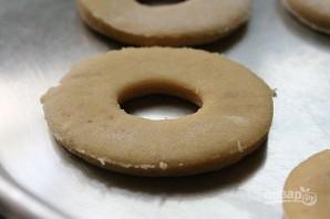 Простой рецепт пончиков без дрожжей - фото шаг 8