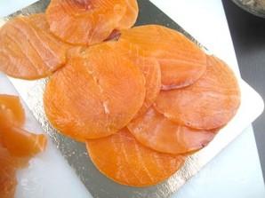 Закуска из краба и копченого лосося - фото шаг 1