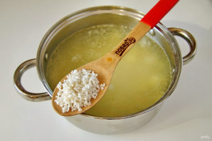 Суп с рисом и кабачком - фото шаг 6
