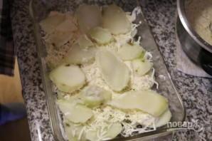 Картофельная запеканка с двумя видами сыра - фото шаг 7