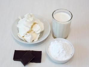 Шоколадный крем-чиз на сливках - фото шаг 1