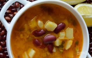 Рецепт супа с красной фасолью консервированной - фото шаг 6