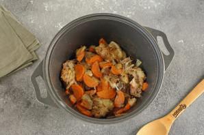 Курица с овощами в собственном соку - фото шаг 6