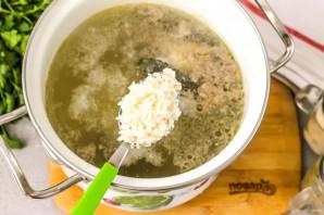 Рисовый суп с уткой - фото шаг 4