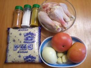 Курица с рисом и овощами в мультиварке - фото шаг 1