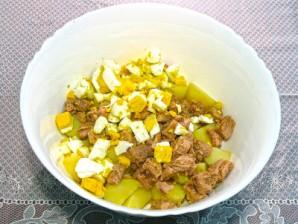 Картофельный салат с тунцом - фото шаг 6