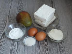 Творожная запеканка с манго - фото шаг 1