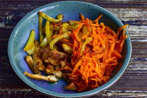 Салат с курицей по-китайски - фото шаг 7