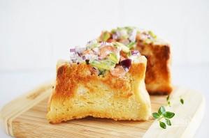 Кармашки из хлеба с креветками - фото шаг 7