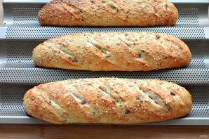 Французский хлеб с ветчиной - фото шаг 6