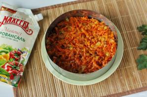 """Салат из рыбных консервов с майонезом """"Махеевъ"""" - фото шаг 7"""