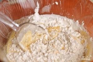 Творожный пирог в духовке - фото шаг 3