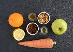 Салат из моркови, яблок и апельсина - фото шаг 1
