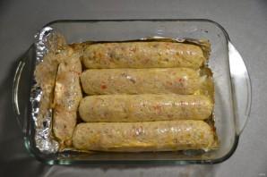 Рыбная колбаса - фото шаг 17