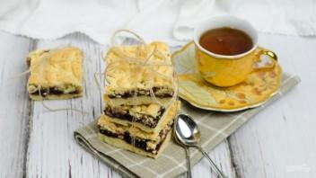 Тертый пирог с повидлом - фото шаг 9
