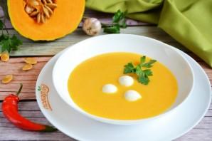Тыквенный суп с моцареллой - фото шаг 8