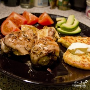 Курица с лимоном и тимьяном - фото шаг 5