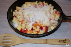Слоеный яблочный пирог - фото шаг 4