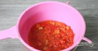 Огурцы в томатной заливке на зиму - фото шаг 5