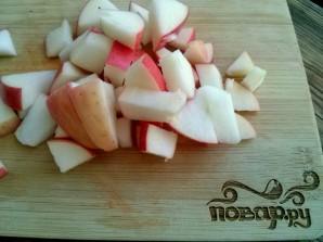 Вегетарианская шарлотка без яиц - фото шаг 6