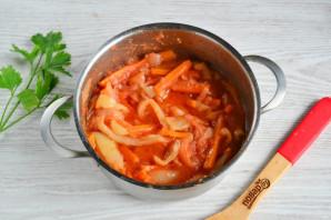 Закуска из перца и моркови на зиму - фото шаг 8