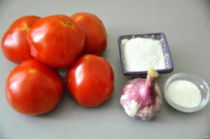 Горлодёр из помидоров с чесноком - фото шаг 1
