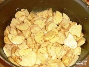 Курица по-французски с картошкой - фото шаг 2
