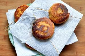 Картофельные колбаски с ветчиной - фото шаг 5