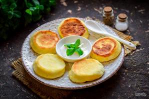 Сырники с кукурузной мукой - фото шаг 6
