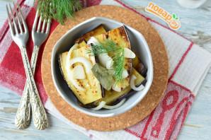 Маринованные баклажаны с чесноком и луком - фото шаг 7