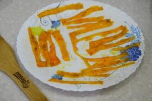 Морковные чипсы - фото шаг 4