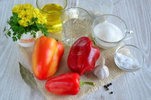 Болгарский перец с чесноком на зиму - фото шаг 1