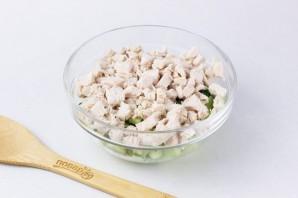 ПП салат с авокадо - фото шаг 4