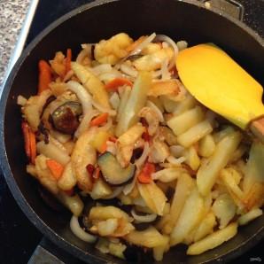 Баклажаны с картошкой - фото шаг 7