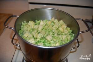 Картофель с брокколи - фото шаг 9
