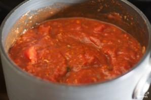 Овощной соус для макарон - фото шаг 5