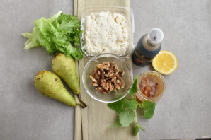 Салат с грушей - фото шаг 1
