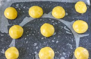 Песочное печенье с яблоками - фото шаг 6
