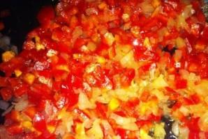 Жульен с мидиями и овощами - фото шаг 3
