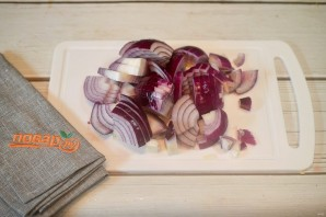 Варенье из лука и перца чили - фото шаг 1