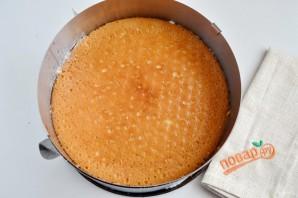 Праздничный торт с творожным кремом - фото шаг 12