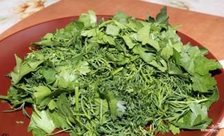 Салат с грибами вешенками - фото шаг 4