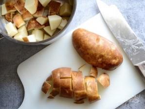 Картофель с яйцами - фото шаг 1