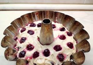 Вишневый кекс - фото шаг 6