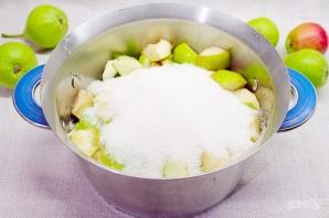 Начинка для зимних пирогов из груш с лимонником и корицей - фото шаг 3