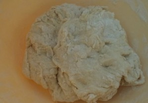 Бездрожжевое тесто для пирога - фото шаг 3