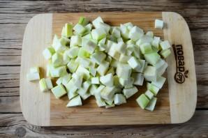 Салат из помидоров и кабачков на зиму - фото шаг 2