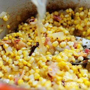 Кукурузный суп с чили - фото шаг 11