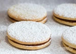 Рождественское печенье со сгущенкой - фото шаг 7