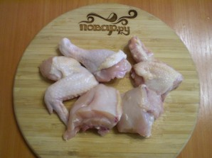 Курица, тушеная с овощами в сметане - фото шаг 3